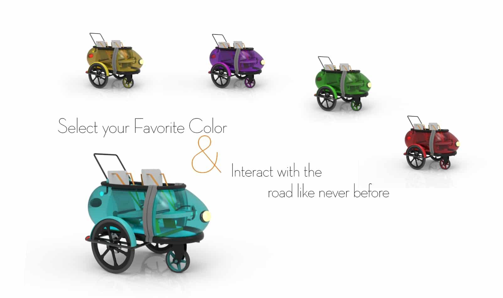 Customizable SideBuddy stroller Pattern by Jordi Hans Design Sweden Jonkoping